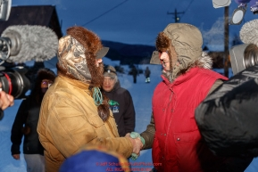 Nicolas Petit recieves the Bristol Bay Native Corporation's