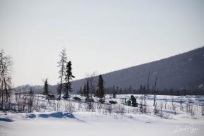 Ryan Redington Leaving Iditarod