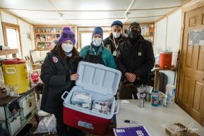 Iditarod Covid-19 Testing