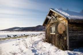 Iditarod Checkpoint Cabin