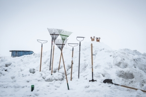 Tools of Unalakleet, March 15th, 2020.