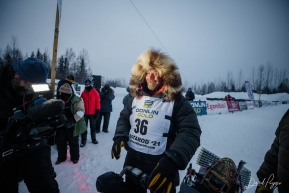 Aaron Burmeister at the Finish