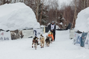Joar Leifseth Ulsom at the Finish Line