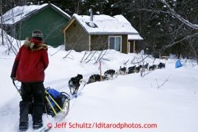 Leavng the Finger Lake checkpoint March 4, 2013.