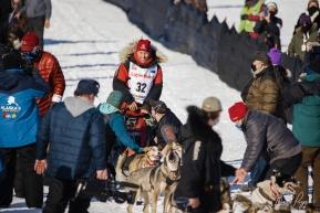 Aliy Zirkle at the Starting Line