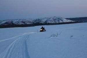 On the Yukon River near Circle