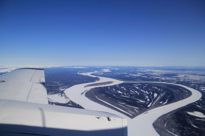 Aerial of the Mighty Yukon