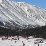 Planes Pontilla Lake Rainy Pass